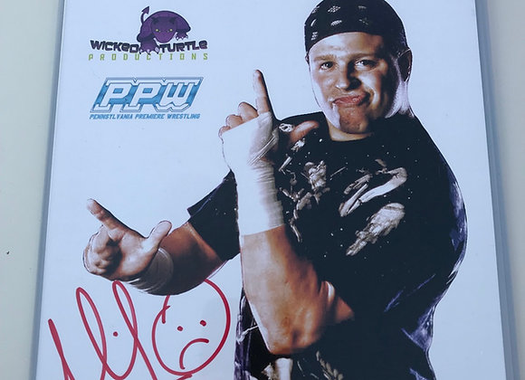 PPW AUTHENTIC AUTOGRAPH MIKEY WHIPWRECK