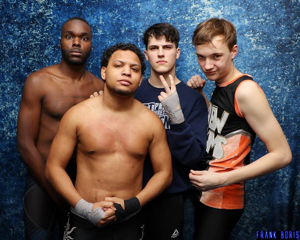 Underdogs Wrestling School Trainees