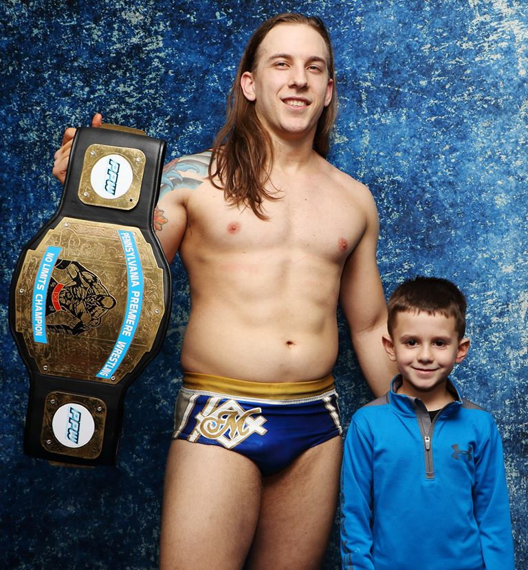 Charles Mason and Young Fan