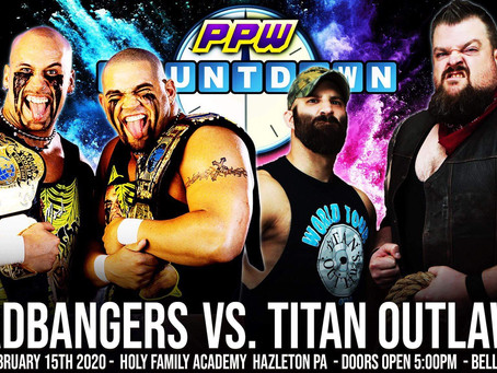 Headbangers Arrive to Face Titan Outlaws