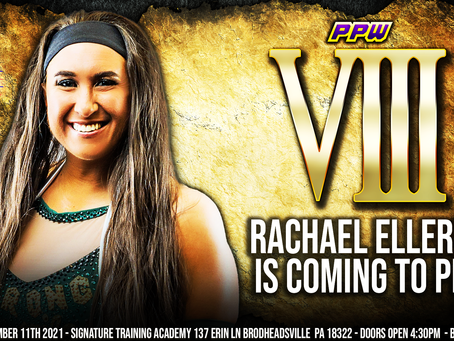 Rachael Ellering Coming to VIII