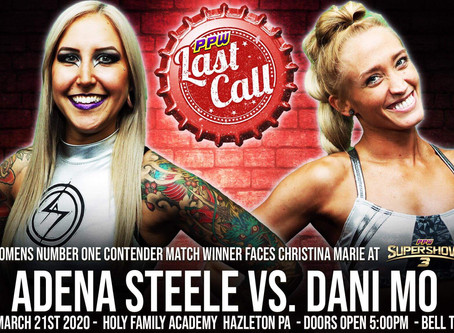 Adena, Dani to Meet to Determine #1 Contender