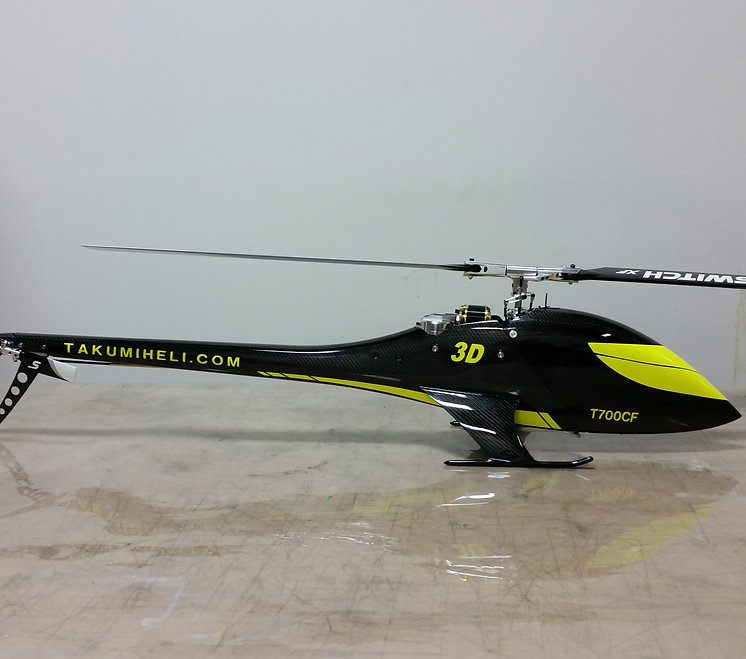 TAKUMI T700CF helicopter kit