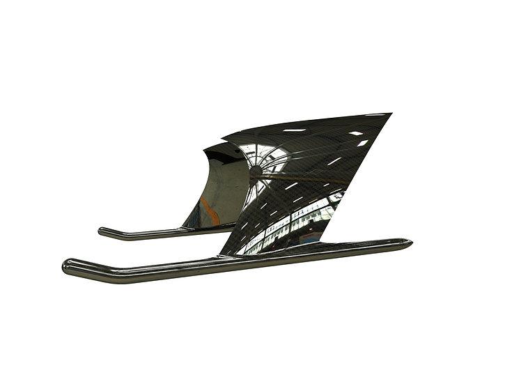 T700CF landing skids
