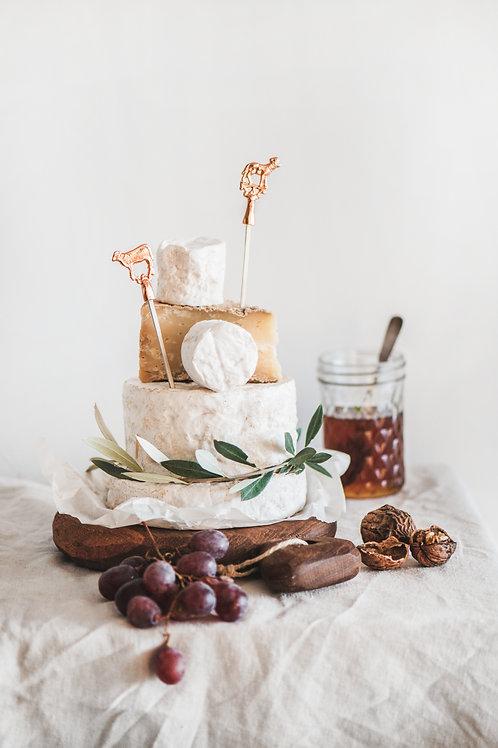 Goat and Lamb 4lü Peynir Etiketi