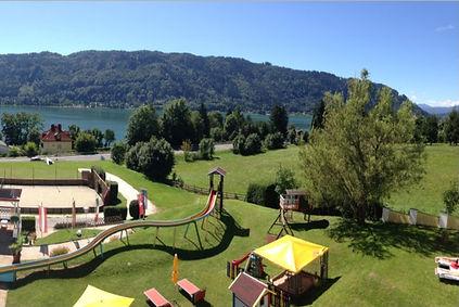 Hotel Ossiacher See mti Pool und Kinderrutsche