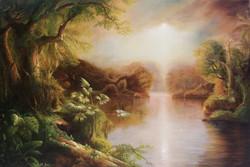 El rio del Luz