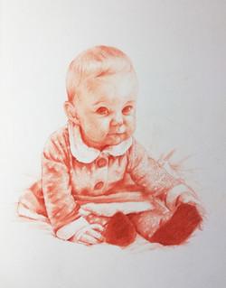 Portrait d'enfant, format A3