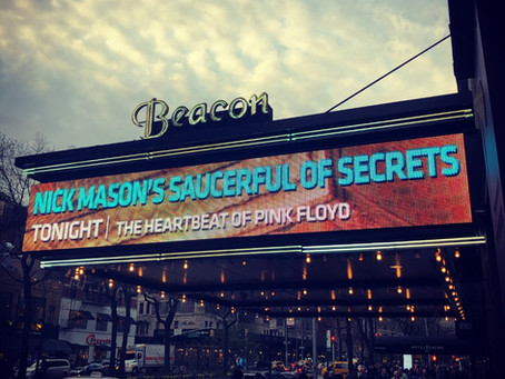 Nick Mason's Saucerful of Secrets Live: April 18, 2019 - The Beacon Theater, New York City, NY, USA