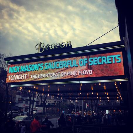 Nick Mason's Saucerful of Secrets Live: April 18, 2019 - The Beacon Theater, New York City, NY, USA