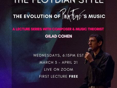 'The Floydian Style' Lecture Series to Launch on Zoom Next Month