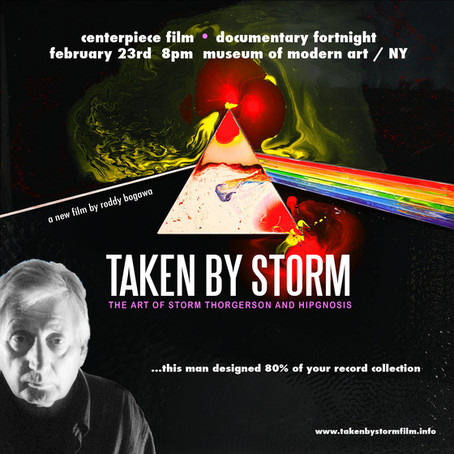 'Taken by Storm: The Art of Storm Thorgerson and Hipgnosis' Screening, Q&A