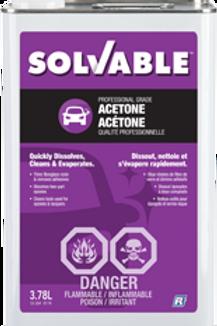 Solvable Acetone -3.8L