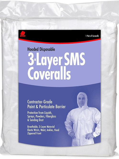 3 Layer SMS Coveralls (1 Pair)