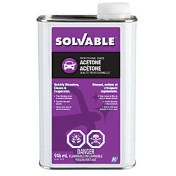 Solvable Acetone - 946mL