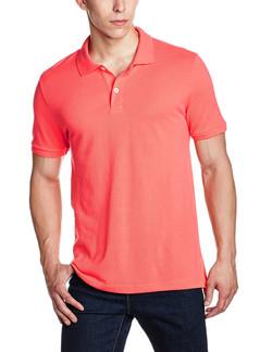 GAP Men's Short Sleeve Solid Pique P