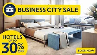 Business city hotels sale or deals upto 30% discount at mercytrip
