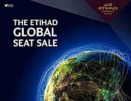 Etihad AIRLINE flights sale for flights upto 50% off in all over world