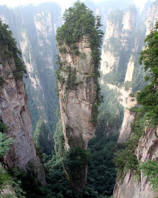 Tianzi Mountains, China   mercytrip.com