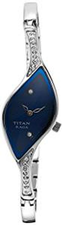 Titan analog Blue Dial Women's Watch