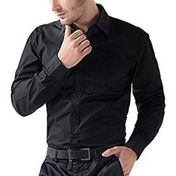 Formal And semi formal Black Shirt F