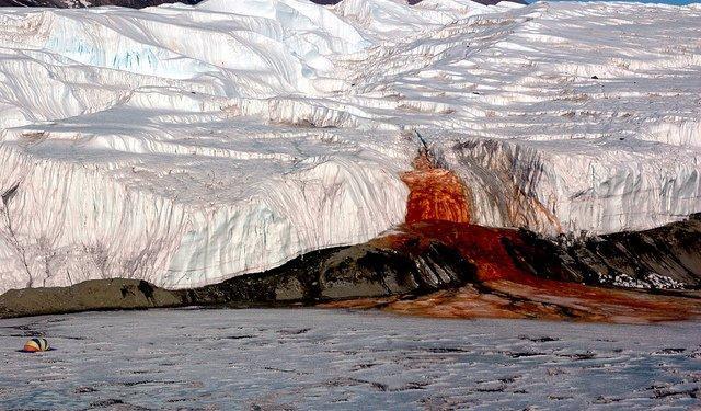Blood Falls, Antarctica     mercytrip.com