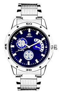 ADAMO Analogue Blue Dial Men's Watch