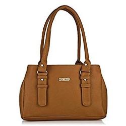 Fostelo Women's Handbag (Tan,Fsb-551
