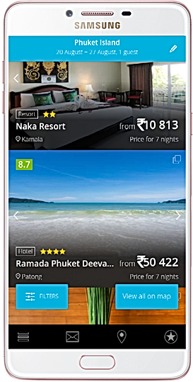 hotel booking app travel app mercytrip.com