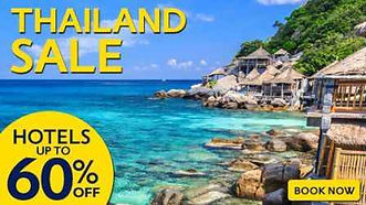 thailand hotels and flights deals or sale at mercytrip
