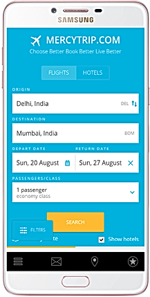 mercytrip android app
