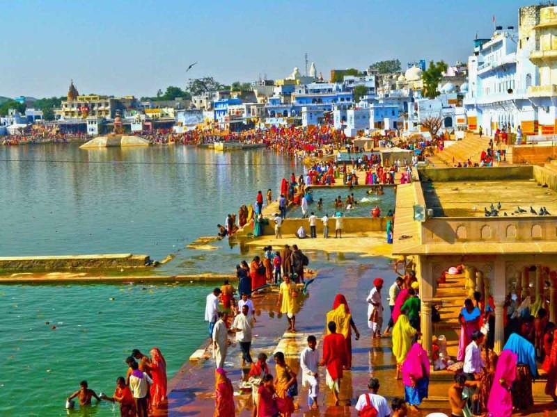 Pushkar Lake  mercytrip