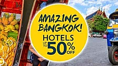 amazing bangkok deals upto 50% off at mercytrip