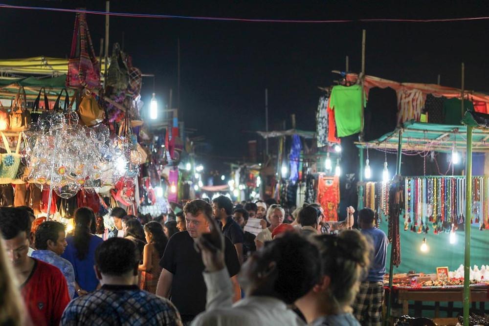 Anjuna's Flea Market mercytrip