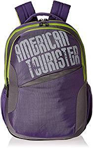 American Tourister 25 Lts Purple Cas