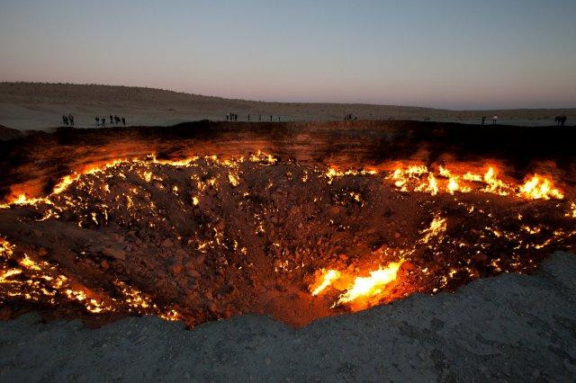 Gate to Hell, Turkmenistan    mercytrip