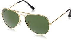 Joe Black Aviator Sunglasses (Shiny