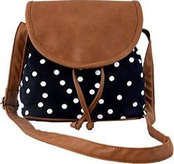 Kleio Women's Sling Bag (Black And B
