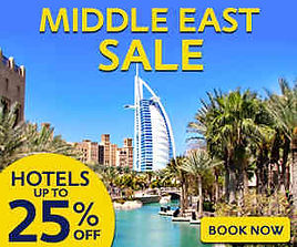 middle east hotels and flights deals upto 40% off at mercytrip.com