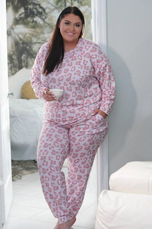 Pink Paradise Loungwear (Set)