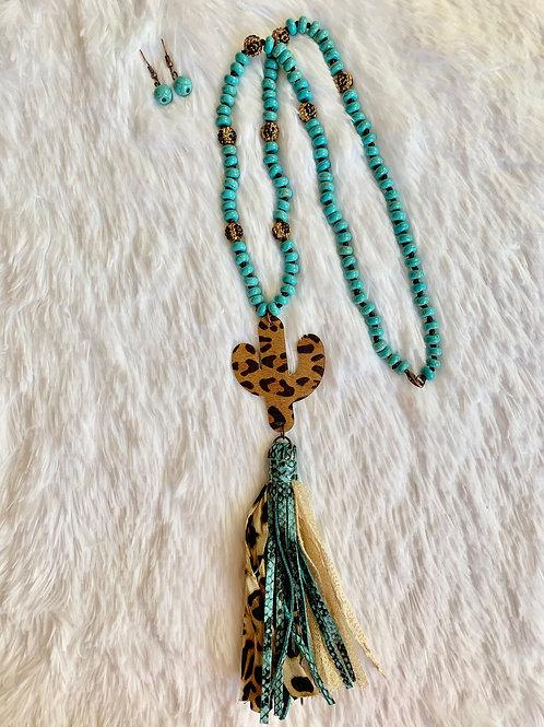 Tassel Cactus Necklace