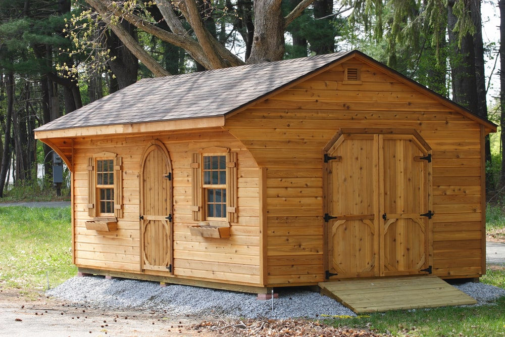 To Make Your Storage Shed Into A Home, There Are Many Necessary  Construction Steps. Be Sure To Check Your Local Building Codes Before  Starting.