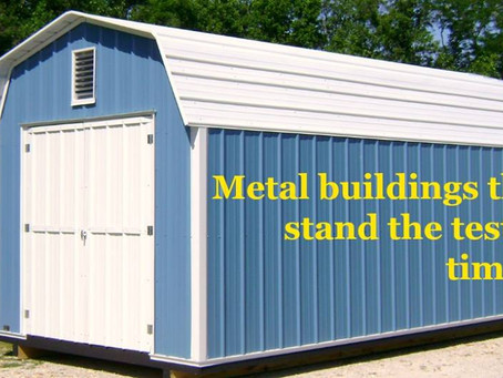 Why Rent Storage Space When Your Own Custom Building is Available and Affordable?