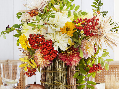 How to Decorate a Fall Dining Table