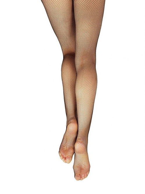 Capezio Footed Black Fishnet Tight
