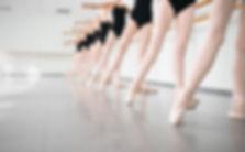 Young Dancers Ballerinas In Class Classi