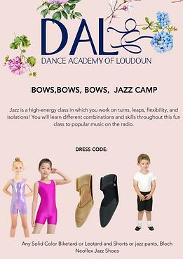 Bows, Bows, Bows Jazz Camp.png