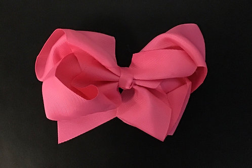 Pink Clip In Bow