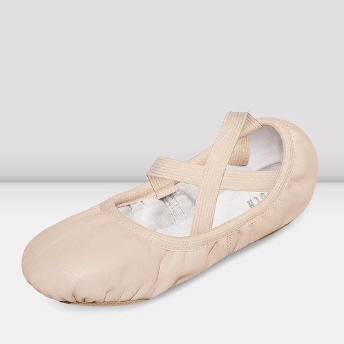 Ladies BLOCH Odette Leather Ballet Shoes
