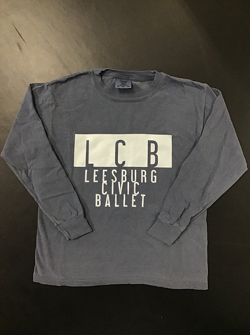 Blue Leesburg Civic Ballet Long Sleeve